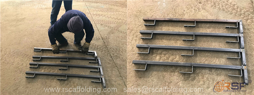 scaffold safety guard rails