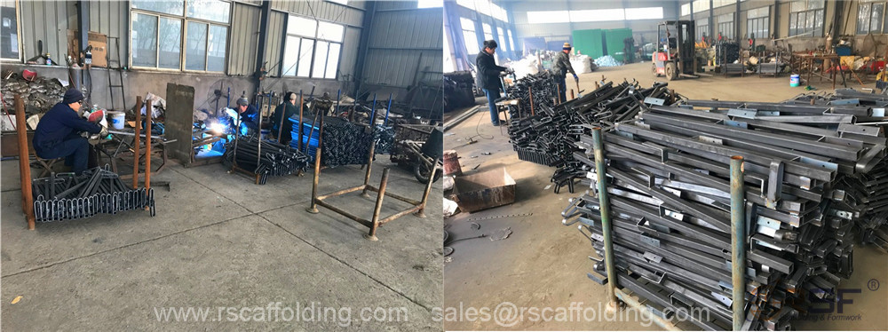 scaffold guard rails struts for sale