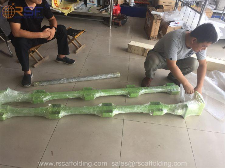 scaffold safety guard rails