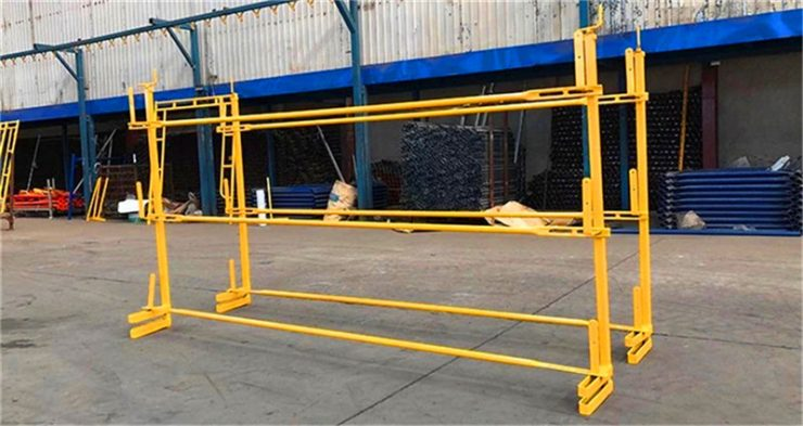 safety scaffold stanchion post
