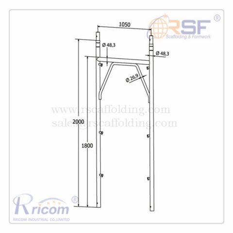 Italian Type Filp Lock Frame